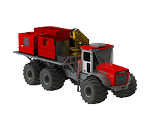 AMT 600 Firefighting apparatus