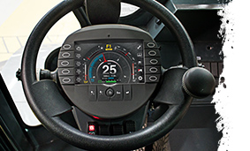 AMT 400 Steering Column Display